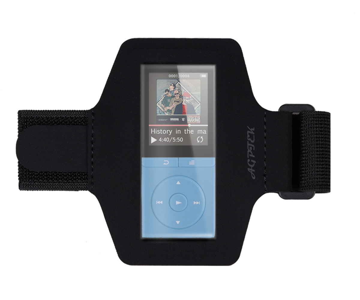 AGPtEK New Version Adjustable Sport Running Jogging Armband for AGPtek A02 , A02S, A20 ,C05 MP3 Player