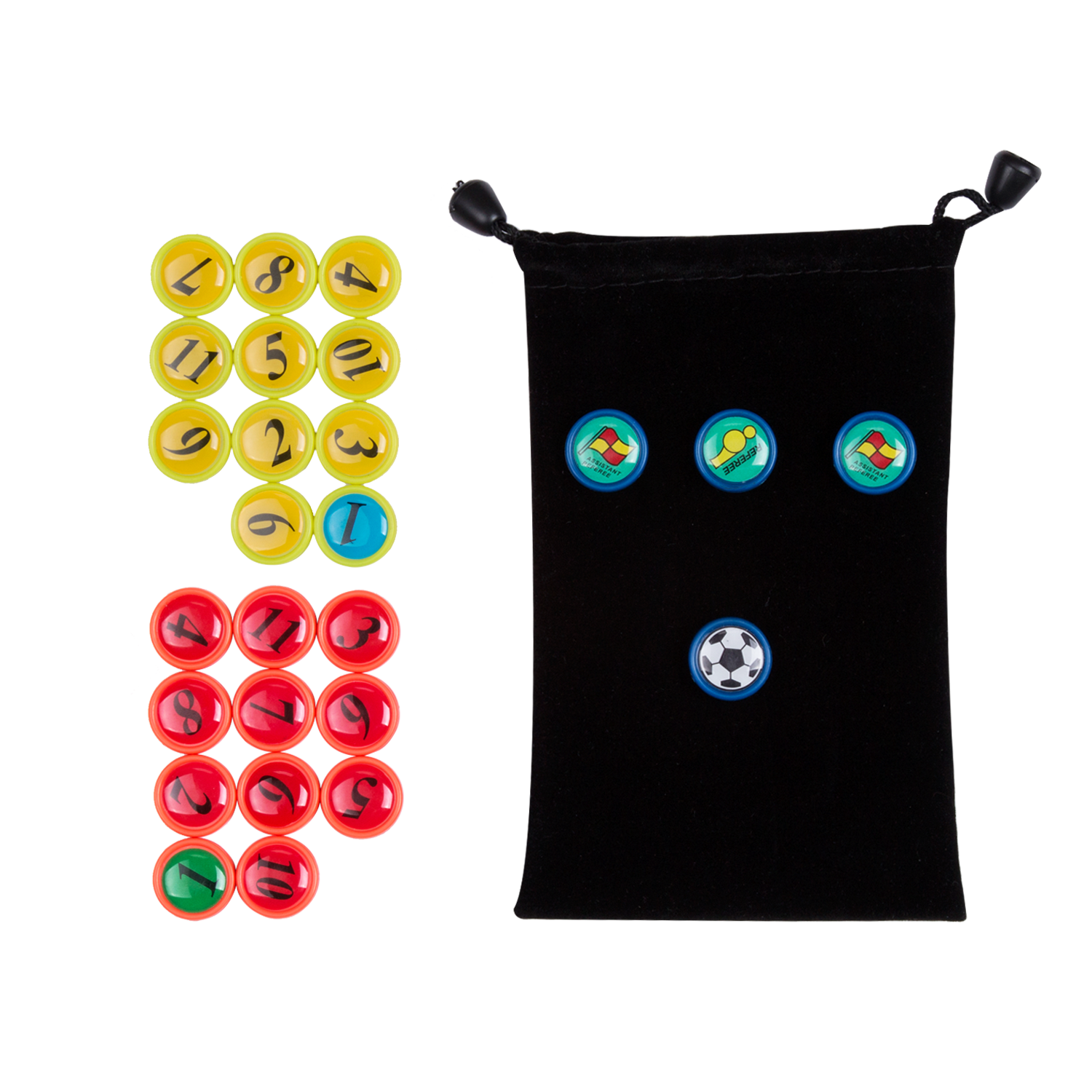 AGPTEK 26 Piece of Football Magnet