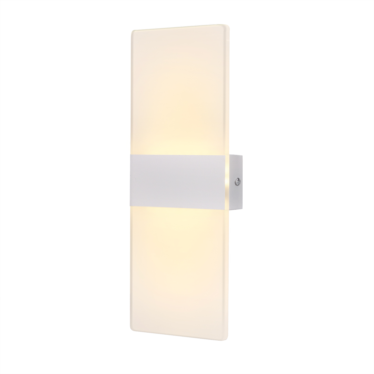 AGPTEK LED Wall Sconce 6W Bright Acrylic Night Light for Bedroom, Balcony, Hallway, Stairway ...