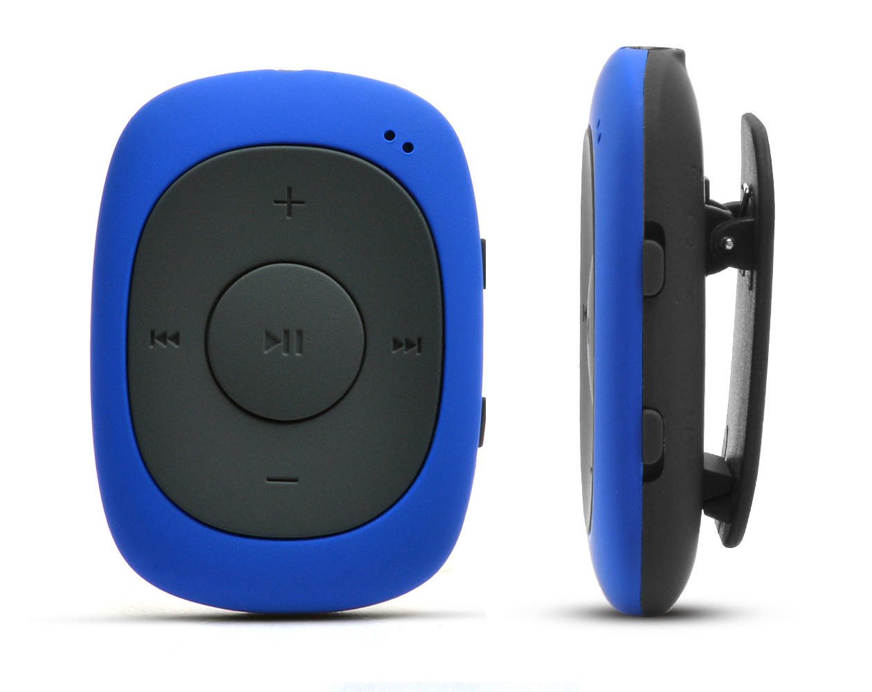 AGPtEK G02 MP3 Player 8GB Independent Buttons Portable ClipPlayer Music with FM Radio Supporting MP3, WMA WAV, blue