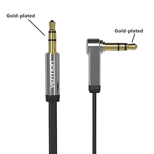 AGPtEK 3.5mm Auxiliary Audio Cable (1m) AUX Cable for Bose Speakers Android phones Samsung Tablets iPods iPhones iPads MP3 Players / Car's Audio System CD Player