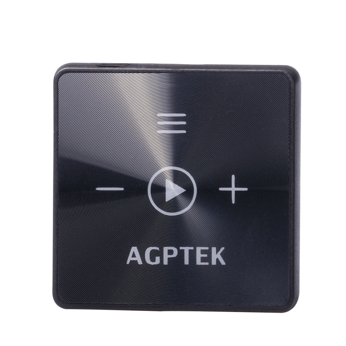 AGPtEK A15 WirelessBluetooth 4.2 Receiver with mini Clip for outdoor sports, HIFI Music Player with 8GB memory, Black