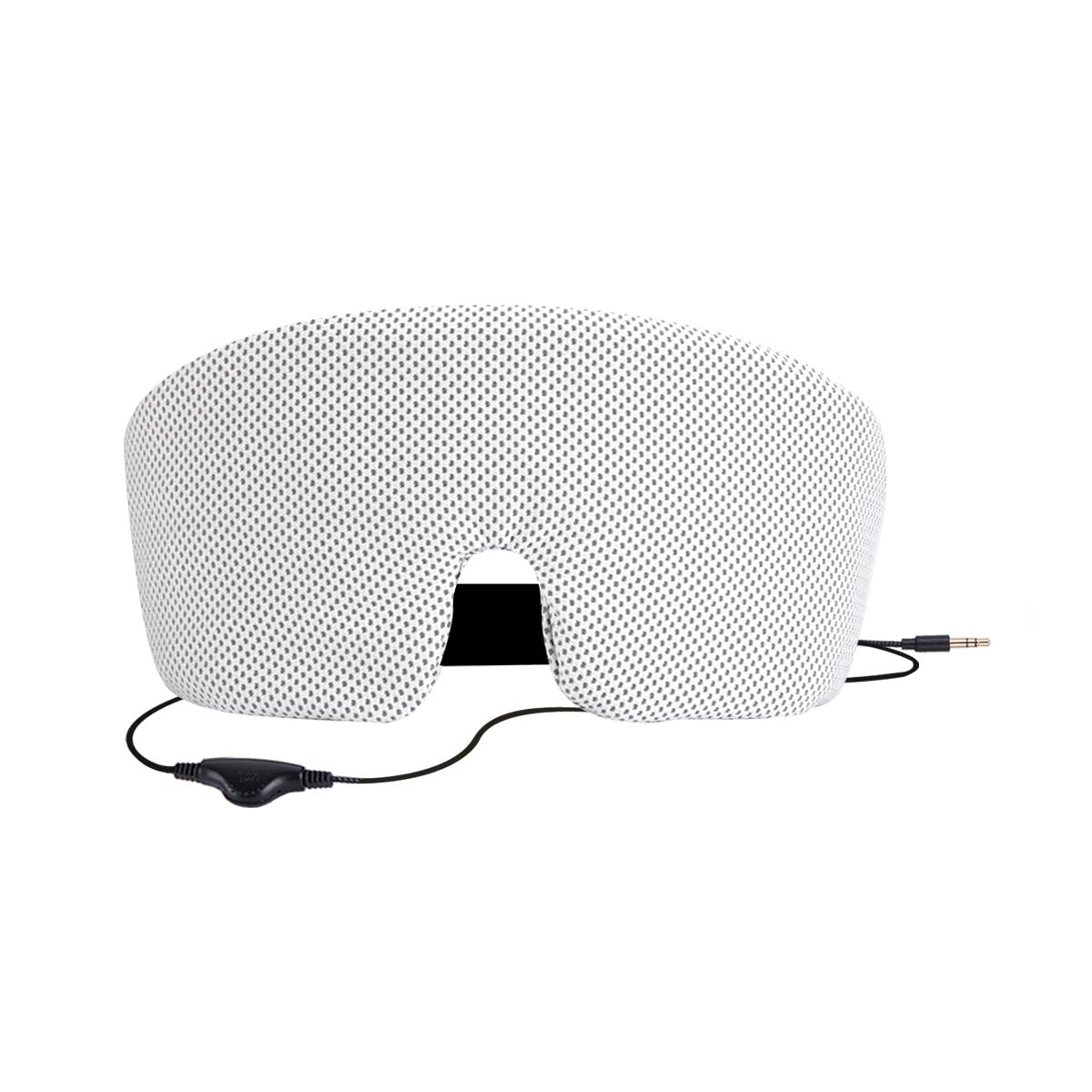 AGPtEK Ultra Soft Comfortable Wired Sleep Headphones Eye Mask Built-in HD Audio Speaker,Perfect for Bedtime & Travel &Meditation