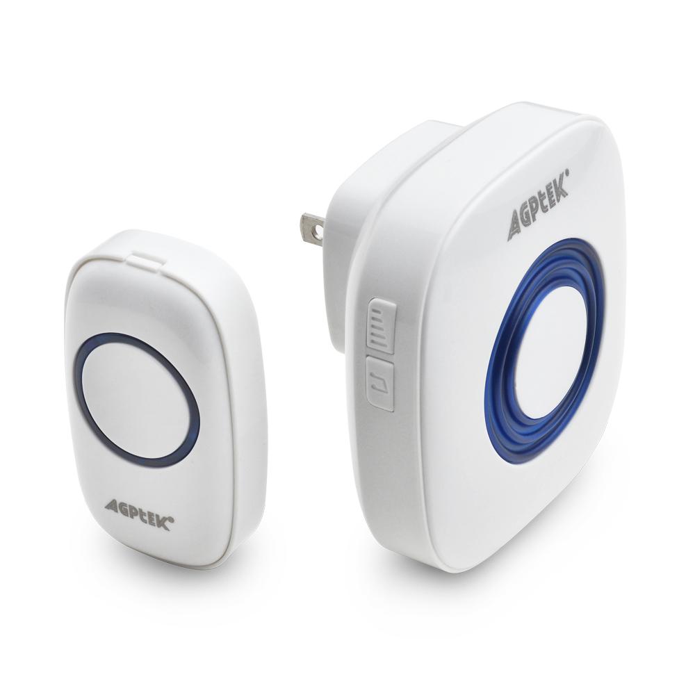 Wireless Door Bell 52 Music 4 levels Volume 1 Transmitter+1 Doorbell Receiver