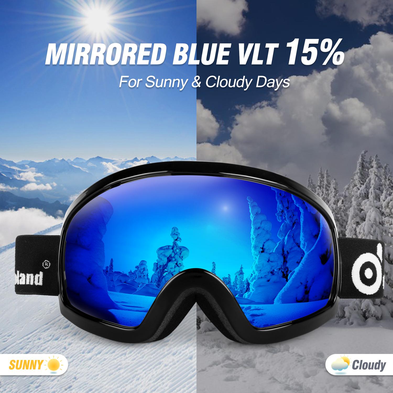 UV400 Goggle Snowboarding Skiing Cycling Anti Fog Wind Dust UV Sun Glass Sell