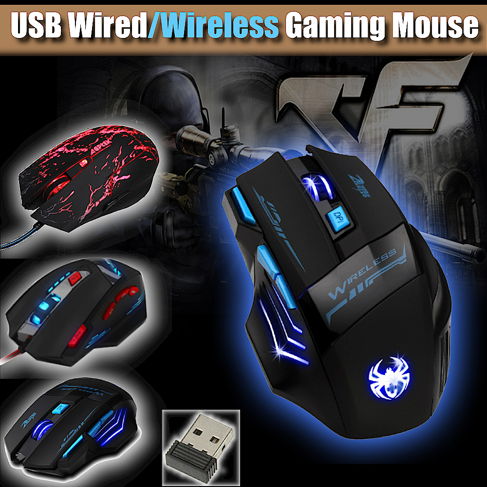 wireless mouse Professional wireless mouse for laptop 30M Transmission LED Optical Wireless Gaming Mouse for Laptop PC Gamer